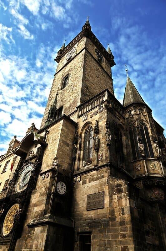 בניין גותי מרהיב בפראג