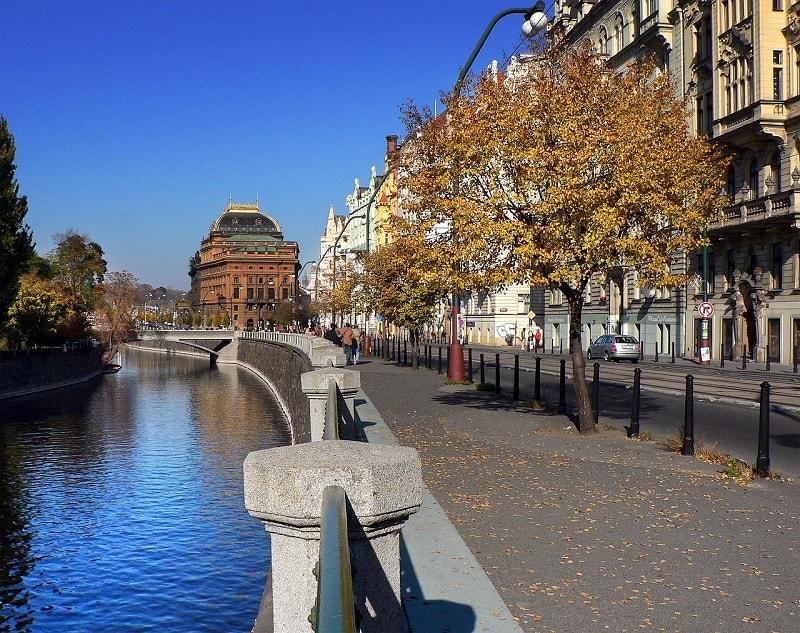 נהר הוולטאבה בפראג