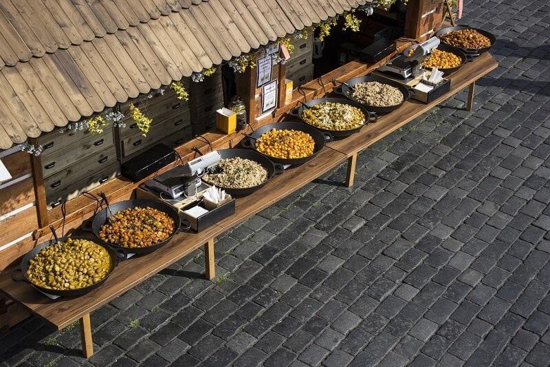 שוק האוכל בפראג